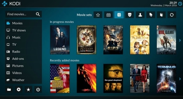 Kodi Features